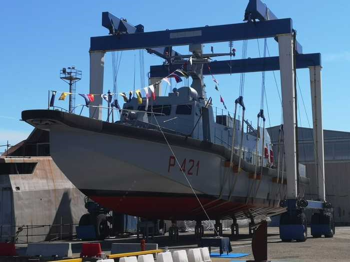 "The vessel ""Tullio Tedeschi"" has been launched in Messina"
